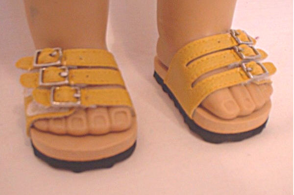 Yellow Euro Sandal