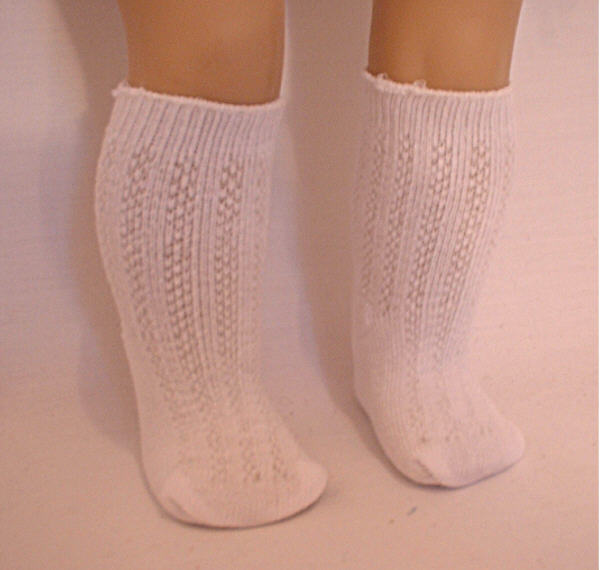 White Heavy Cotton Sock