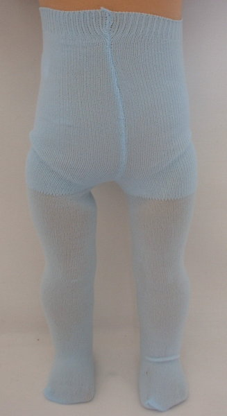 Light Blue Plain Tights