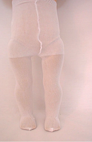 White Plain Tights