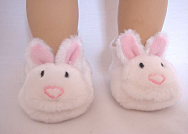 Plush Bunny Slippers