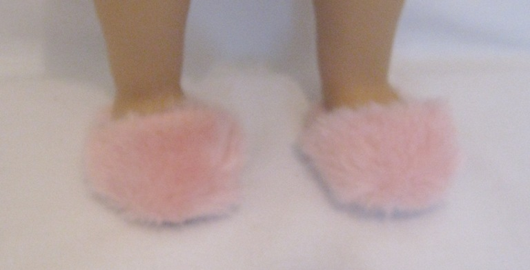 Fuzzy Pink Slippers