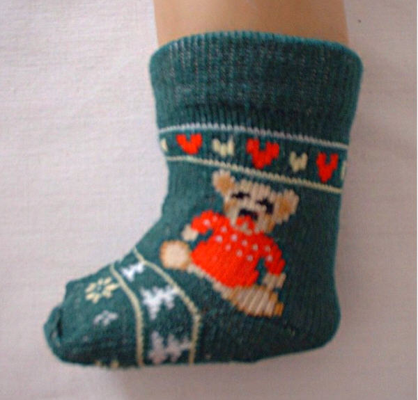 Christmas Bear Stockings