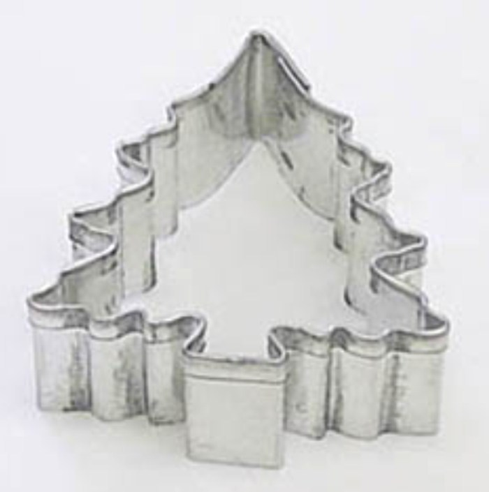 Miniature Christmas Tree Cookie Cutter