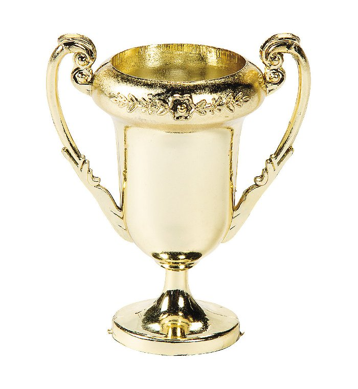 Mini Gold Trophy