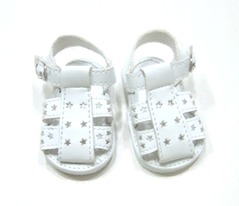White Star Fisherman's Sandals