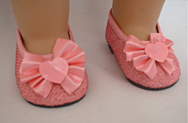 Pink Sparkle Shoes