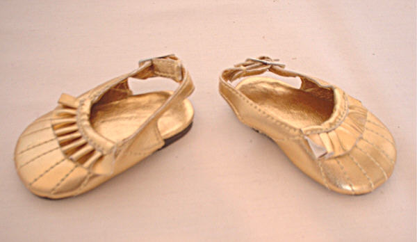 Gold Matallic Shoes