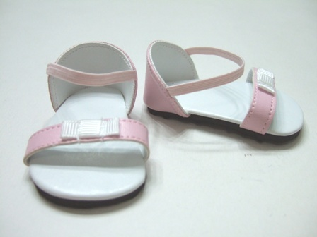 PIink Bow Sandals