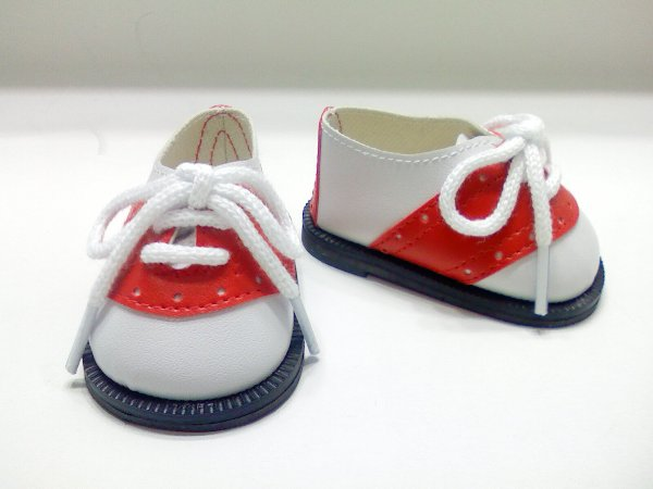 Red and White Oxford