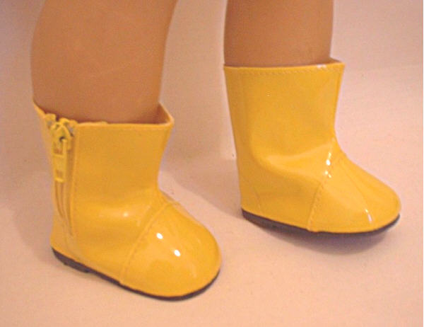 Yellow Colored Rain Boots