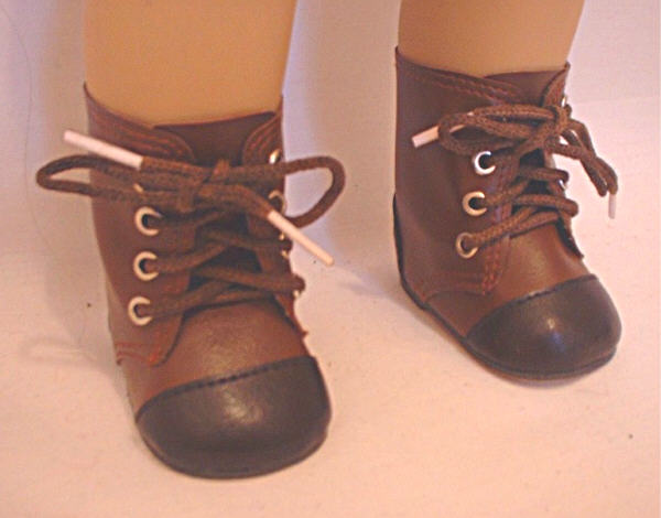 Two Tone Brown Boot