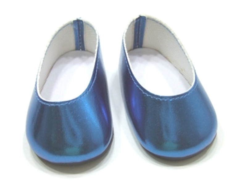 Metallic Turquoise Slip On Show