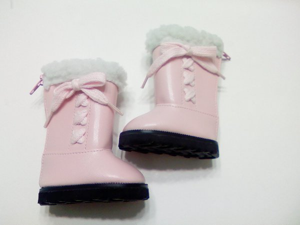 Warm Pink Boots