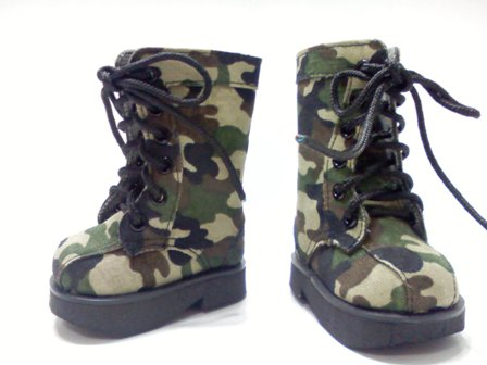 Camouflage Boots