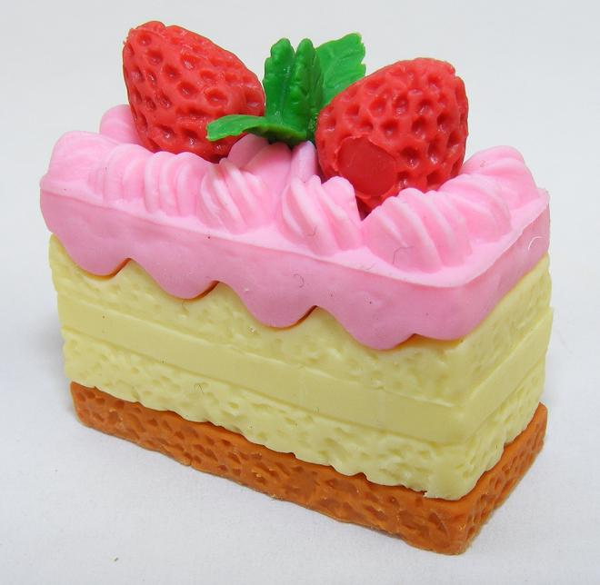 Pink Frosted Princess Cake Slice