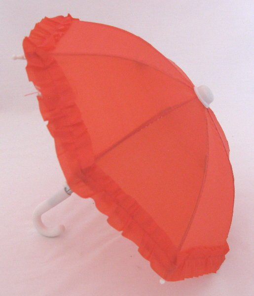 Red Rain Umbrella