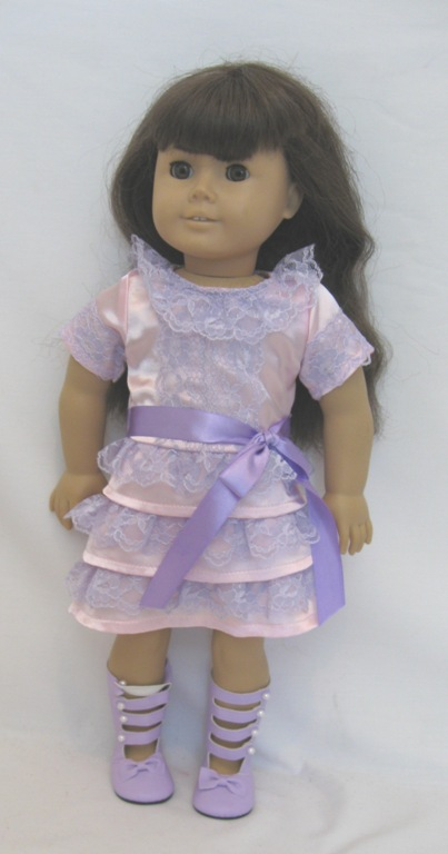 Samantha's Frilly Frock