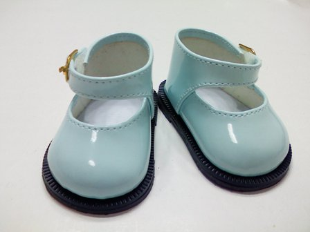 Aqua Patent Mary Jane