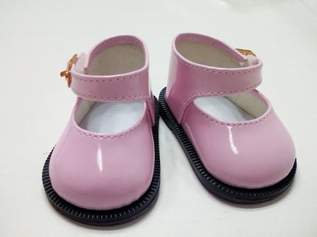 Pink Patent Mary Jane