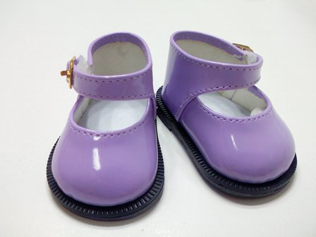 Purple Patent Mary Jane